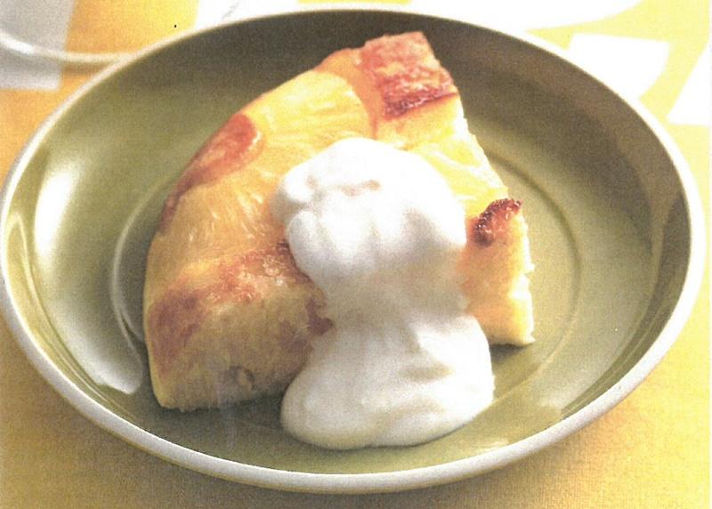 パインのアップサイドダウンケーキ 大人の食育 世代別の食育 一般財団法人日本食生活協会