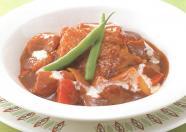 鶏肉と野菜のデミソース煮込み