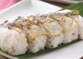 焼きあじの姿寿司